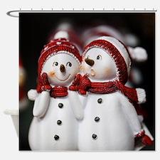 Snowman20150907 Shower Curtain