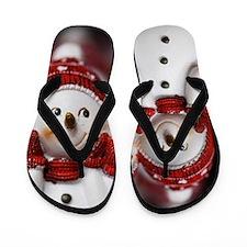 Snowman20150907 Flip Flops