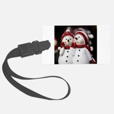Snowman20150907 Luggage Tag