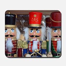 Three christmas nutcrackers Mousepad