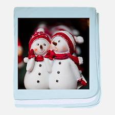 Snowman20150907 baby blanket