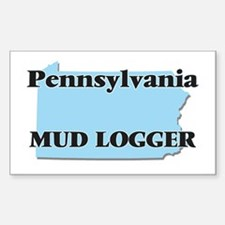 Pennsylvania Mud Logger Decal