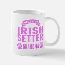 Worlds Best Irish Setter Grandma Mugs