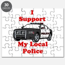 Support Local Police Puzzle
