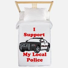 Support Local Police Twin Duvet