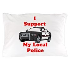 Support Local Police Pillow Case