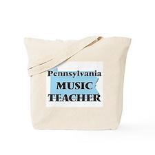 Pennsylvania Music Teacher Tote Bag