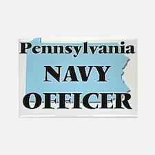 Pennsylvania Navy Officer Magnets