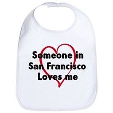 Loves me: San Francisco Bib