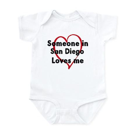 Loves me: San Diego Infant Bodysuit