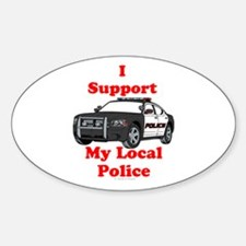 Support Local Police Decal