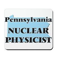 Pennsylvania Nuclear Physicist Mousepad