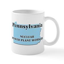 Pennsylvania Nuclear Power Plant Worker Mugs