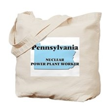 Pennsylvania Nuclear Power Plant Worker Tote Bag