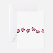 Cute Pig Greeting Cards (Pk of 20)