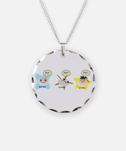PhD student process Necklace