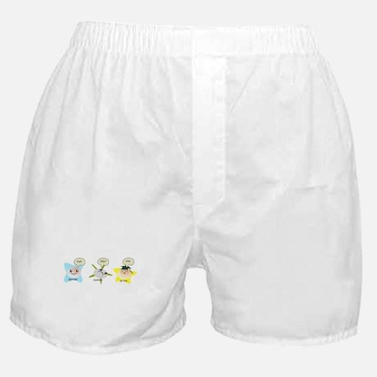 PhD student process Boxer Shorts