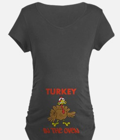 Turkey In The Oven Maternity T-Shirt