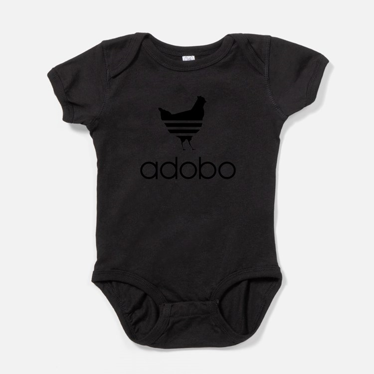 Cute Chicken adobo Baby Bodysuit