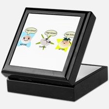 High School student process Keepsake Box