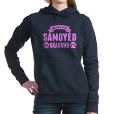 Worlds Best Samoyed Grandma Women's Hooded Sweatsh