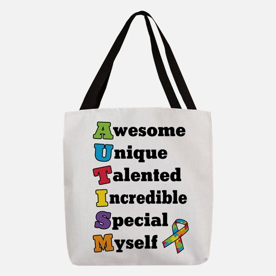 Guitar Happiness Polyester Tote Bag
