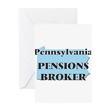 Pennsylvania Pensions Broker Greeting Cards
