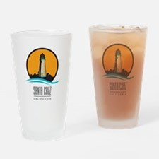 Santa Cruz California CA Light Hous Drinking Glass