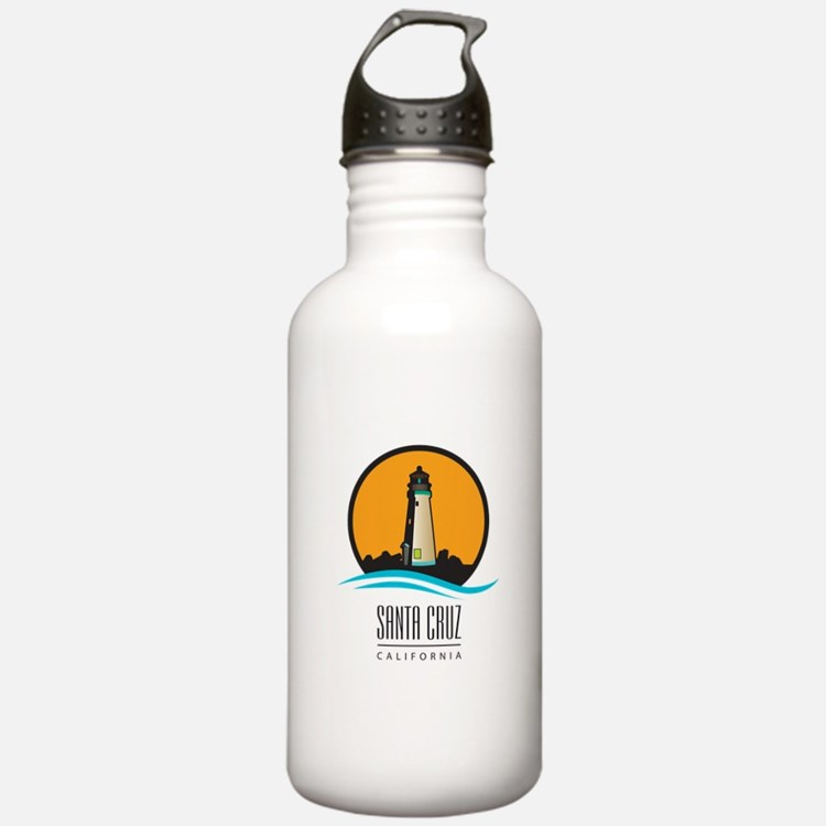 Santa Cruz California Water Bottle