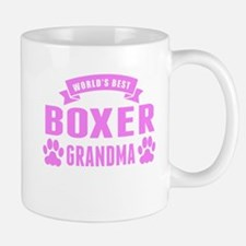 Worlds Best Boxer Grandma Mugs
