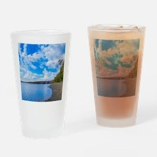 lakeside scenery Drinking Glass