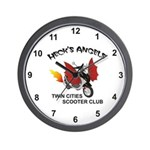 Heck's Angels Wall Clock