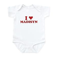 I LOVE MADISYN Infant Bodysuit