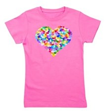 Unique Hearts Girl's Tee