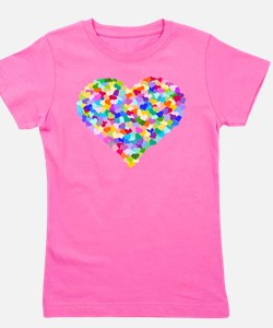 Unique Valentines day big sister Girl's Tee