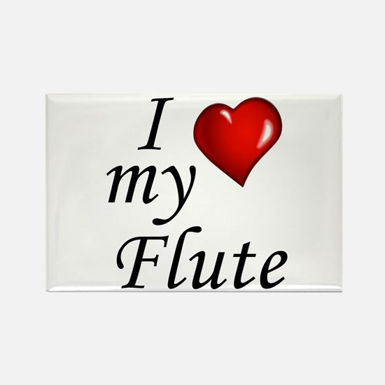 I Love my Flute Magnets