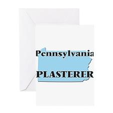 Pennsylvania Plasterer Greeting Cards