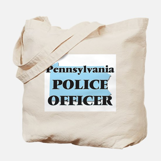 Pennsylvania Police Officer Tote Bag