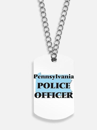 Pennsylvania Police Officer Dog Tags