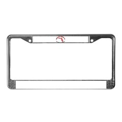 The Dew Wat Now License Plate Frame