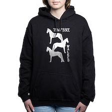 Unique Tennessee walking horses Women's Hooded Sweatshirt