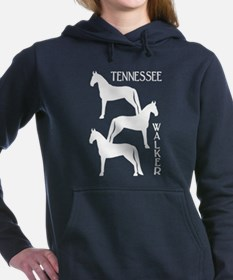 Cool Gaited horses Women's Hooded Sweatshirt