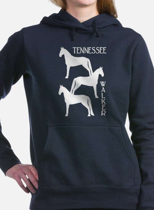 Cute Tennessee walking horse Women's Hooded Sweatshirt