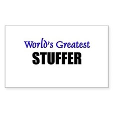 Worlds Greatest STUFFER Rectangle Decal