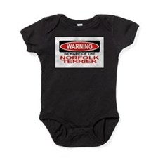 Cute Norfolk terrier Baby Bodysuit