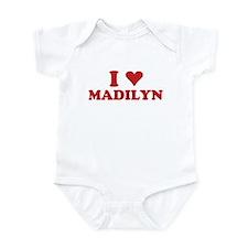 I LOVE MADILYN Infant Bodysuit