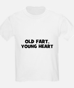 Old Fart, Young Heart T-Shirt