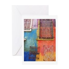 Santana Row Greeting Card