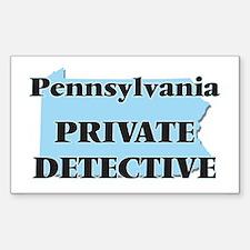 Pennsylvania Private Detective Decal