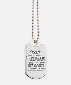 Unique Speech therapy Dog Tags